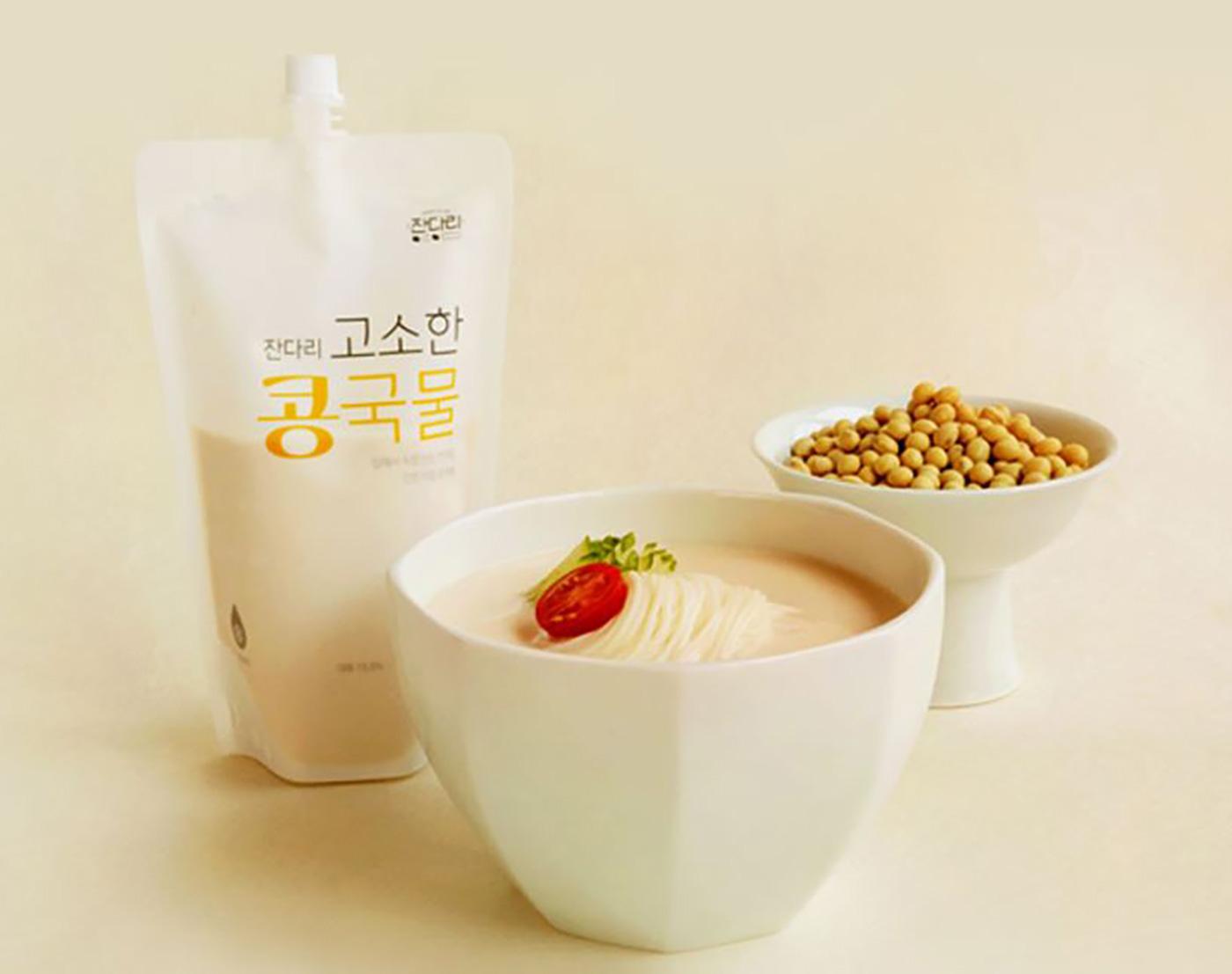 잔다리 고소한 콩국물/잔다리 고소한 콩국물 340g 5팩 상세이미지1