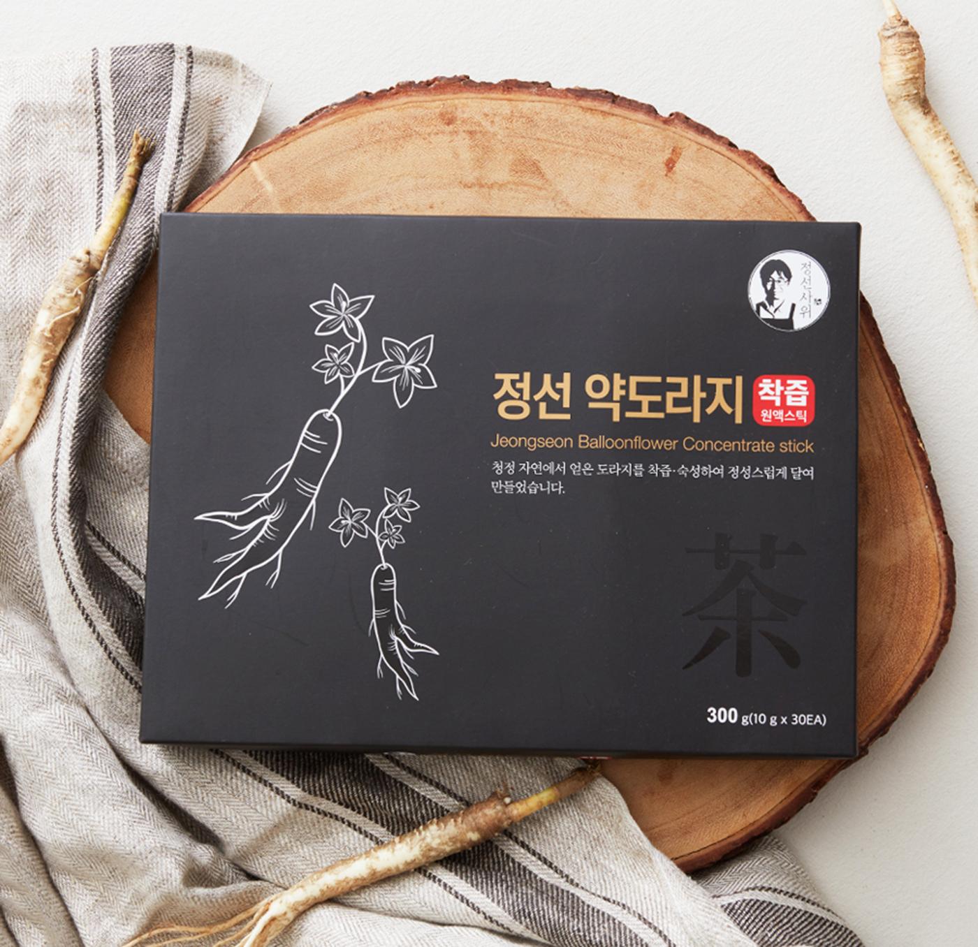 정선 약도라지 농축액 착즙원액 스틱(10g*30포) 상세이미지1