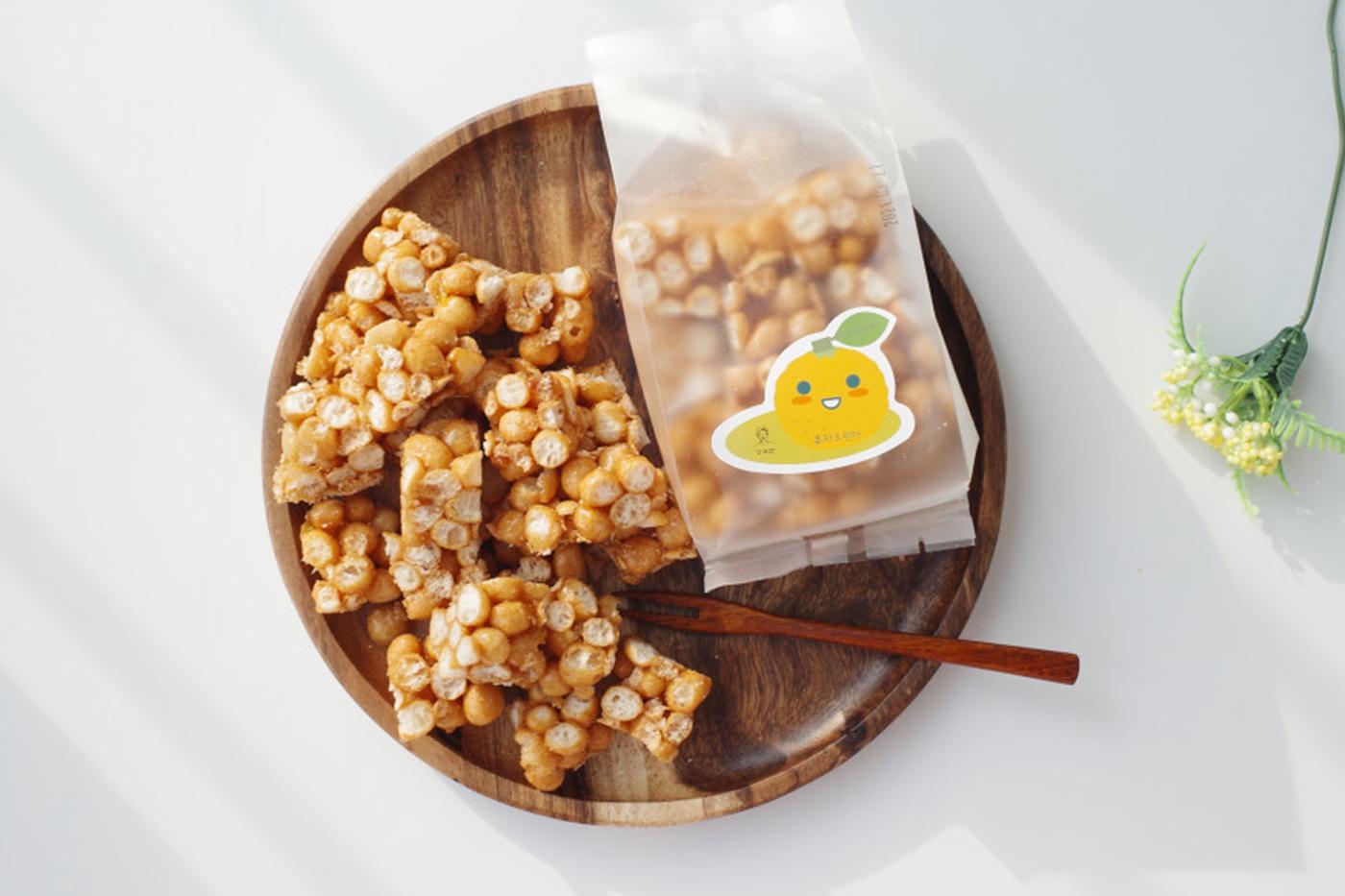 촉촉한 우리쌀 수제 유자 오란다 강정 상세이미지3