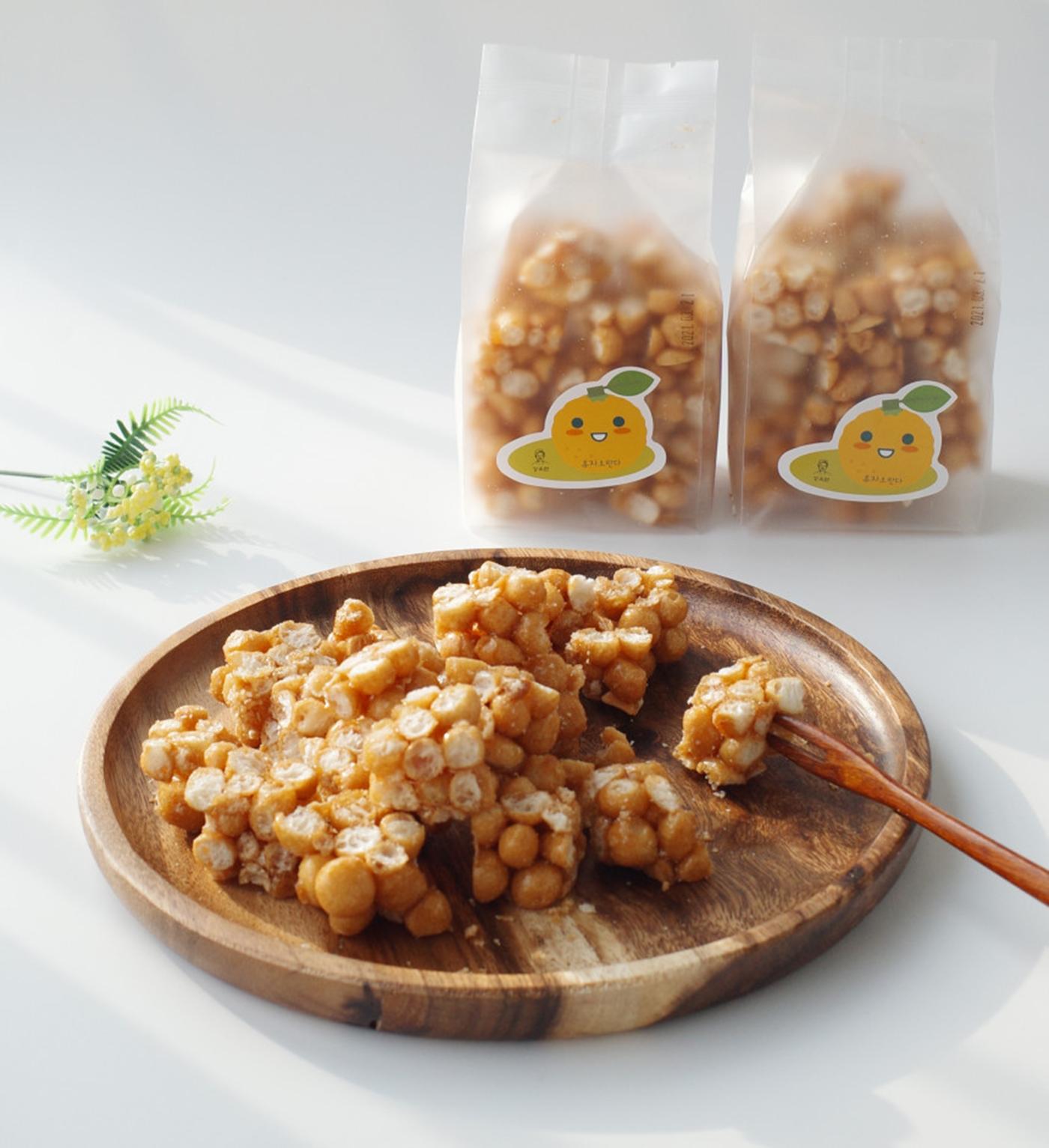 촉촉한 우리쌀 수제 유자 오란다 강정 상세이미지4