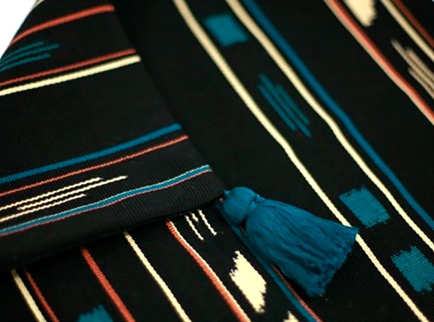 패브릭 쿠션 커퍼 아줄(M_azul)/핸드메이드 패브릭 쿠션커버(40×40cm) 상세이미지2