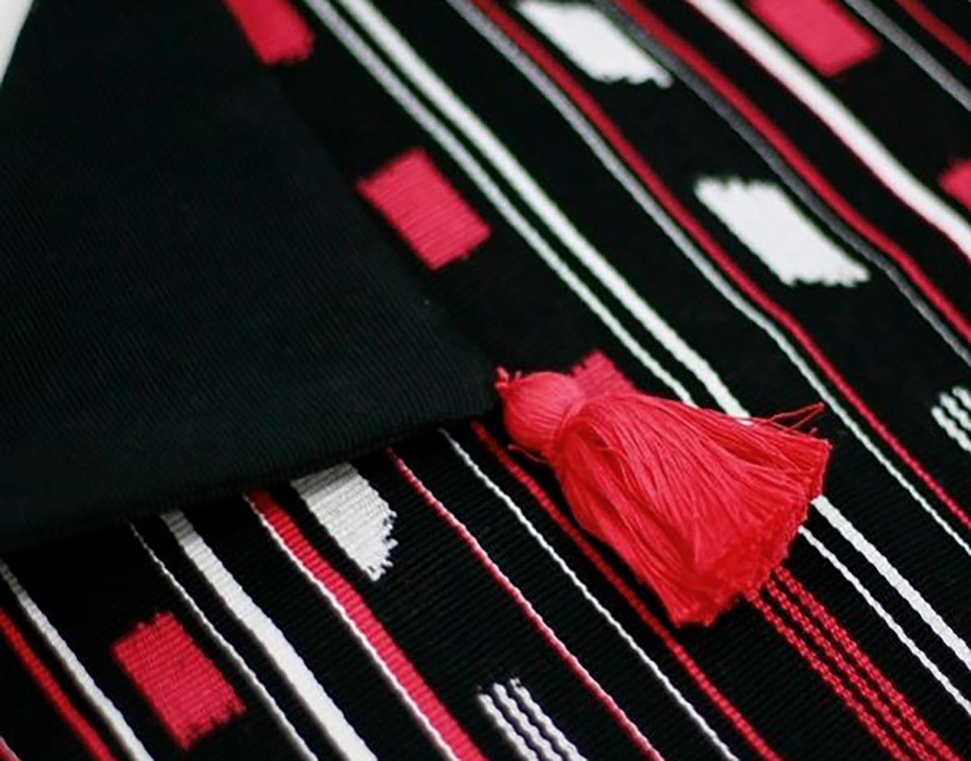 패브릭 쿠션 커퍼 로호(M_Rojo)/핸드메이드 패브릭 쿠션커버(40×40cm) 상세이미지4
