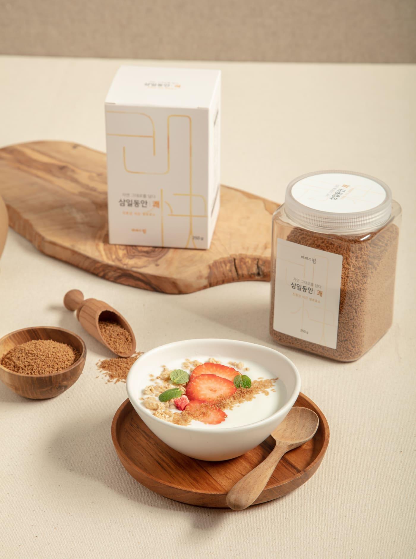 삼일동안 쾌(快) / 식이섬유 영양만점 쌀눈/쌀겨 '미강'으로 만든 발효 효소 가루 상세이미지4