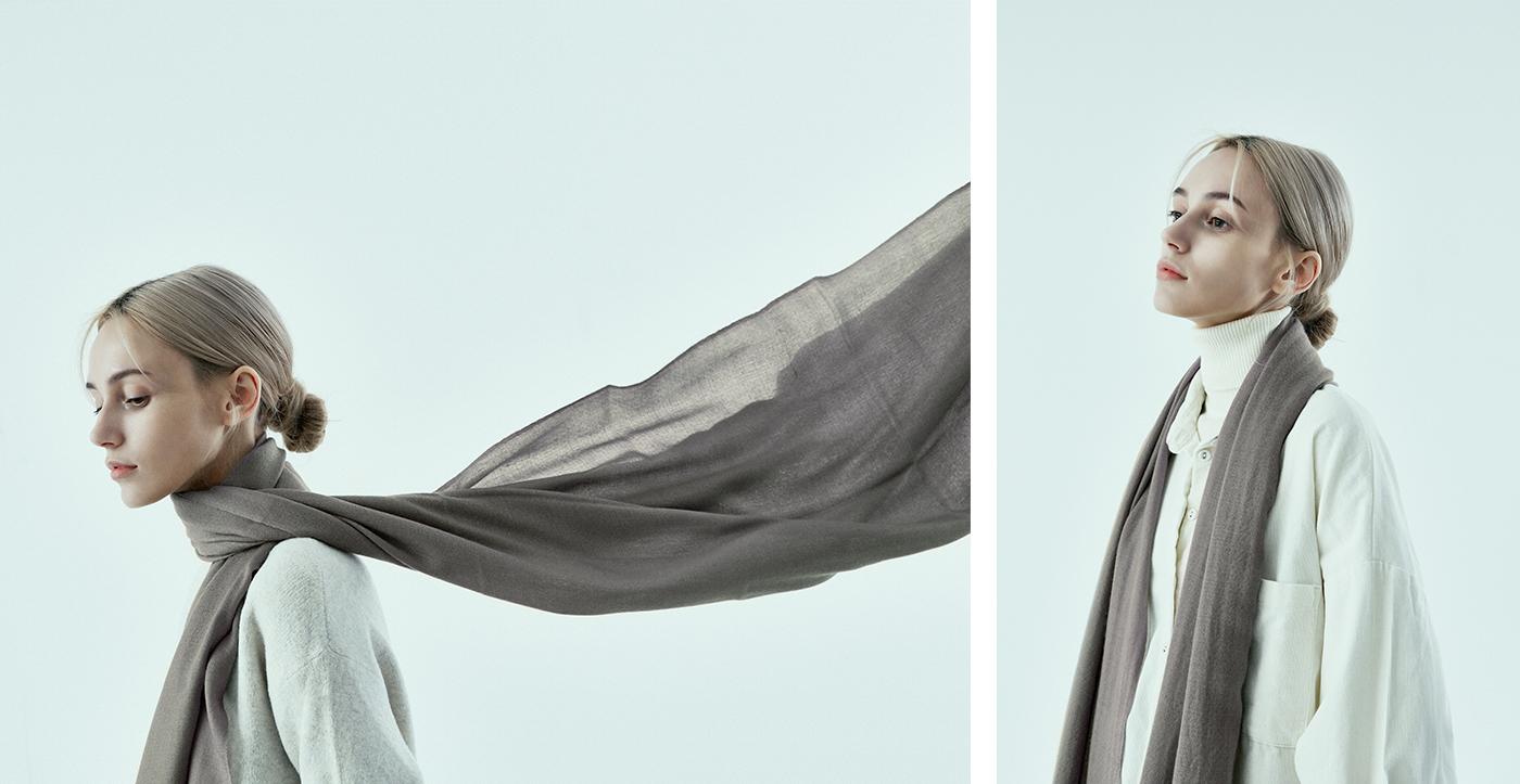100% 파시미나 머플러/캐시미어 상위 1% 섬유인 파시미나로 장인이 만든 머플러(6컬러) 상세이미지5