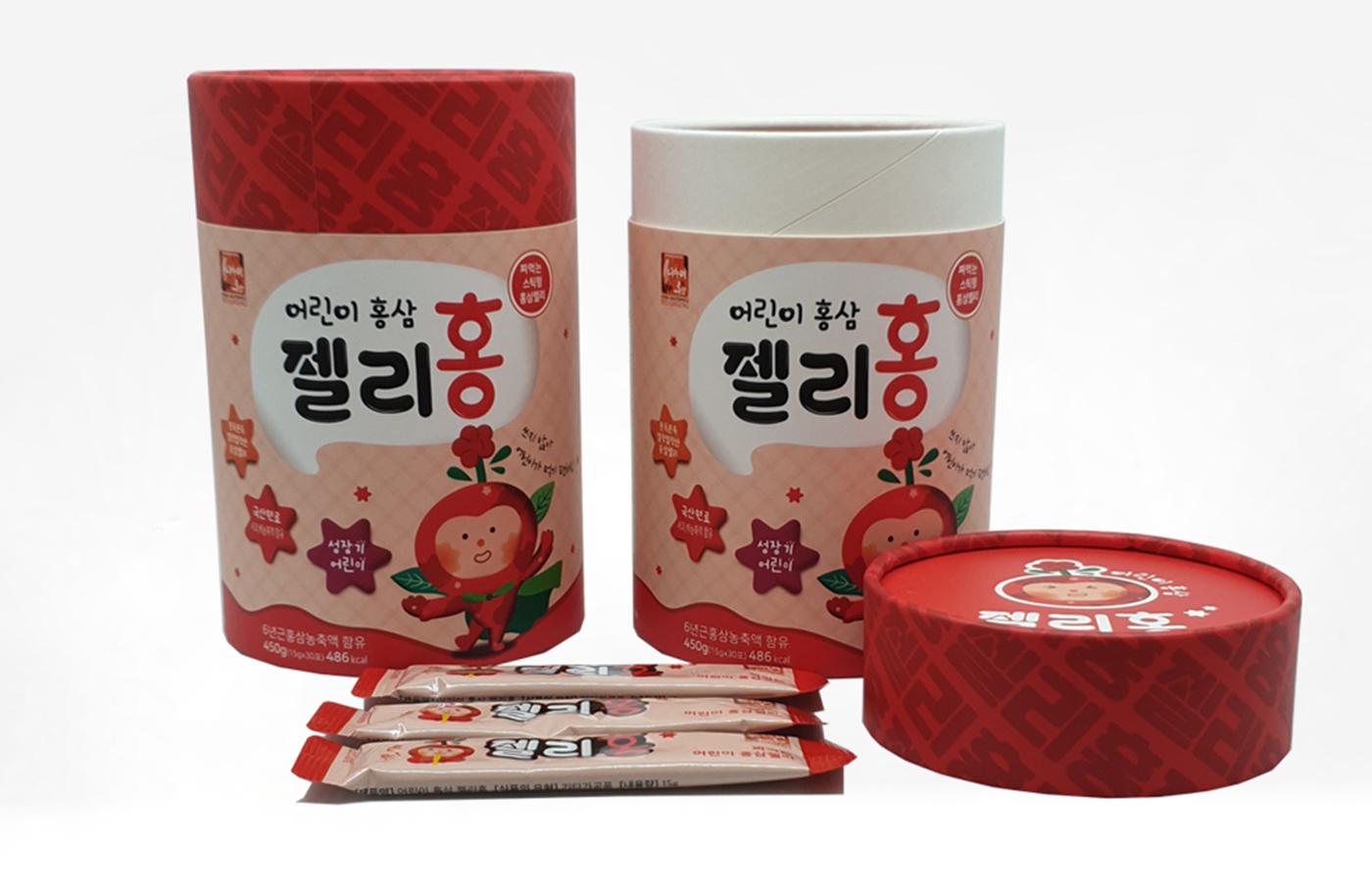 어린이홍삼 젤리홍 상세이미지4
