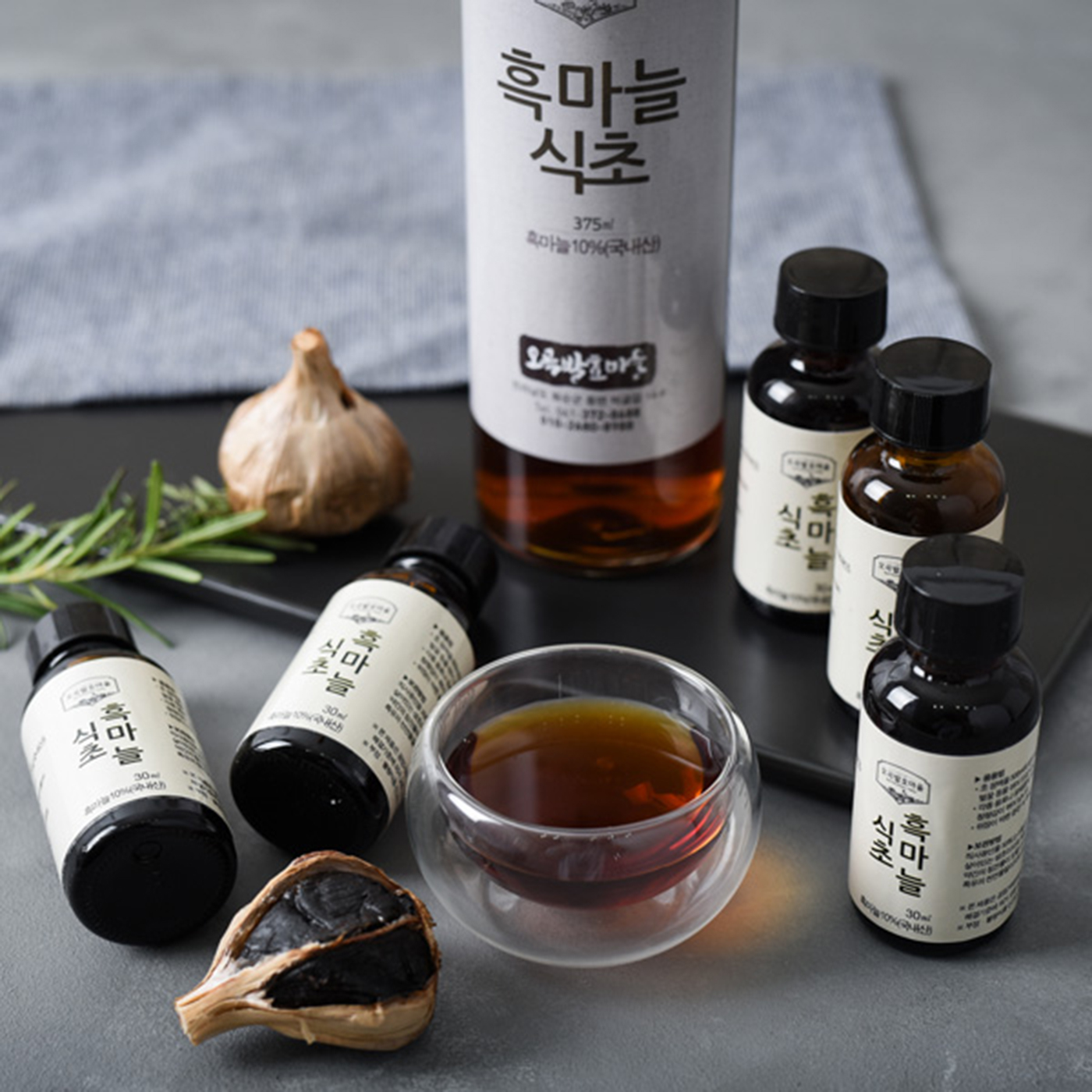 천연 오곡발효 흑마늘 식초(150ml/375ml) 상세이미지5