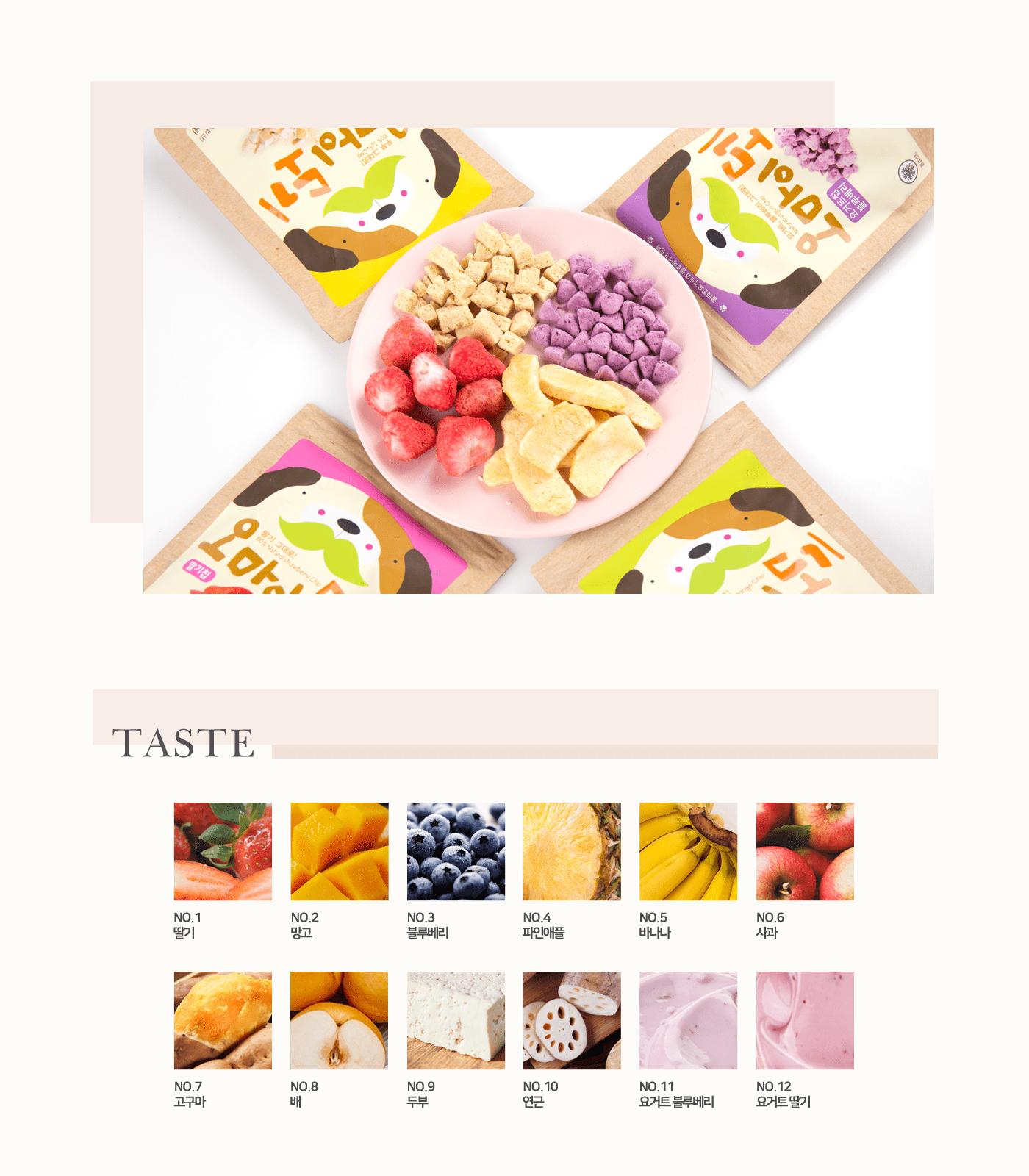 동결건조 과일 애견 간식 전체 상세이미지1