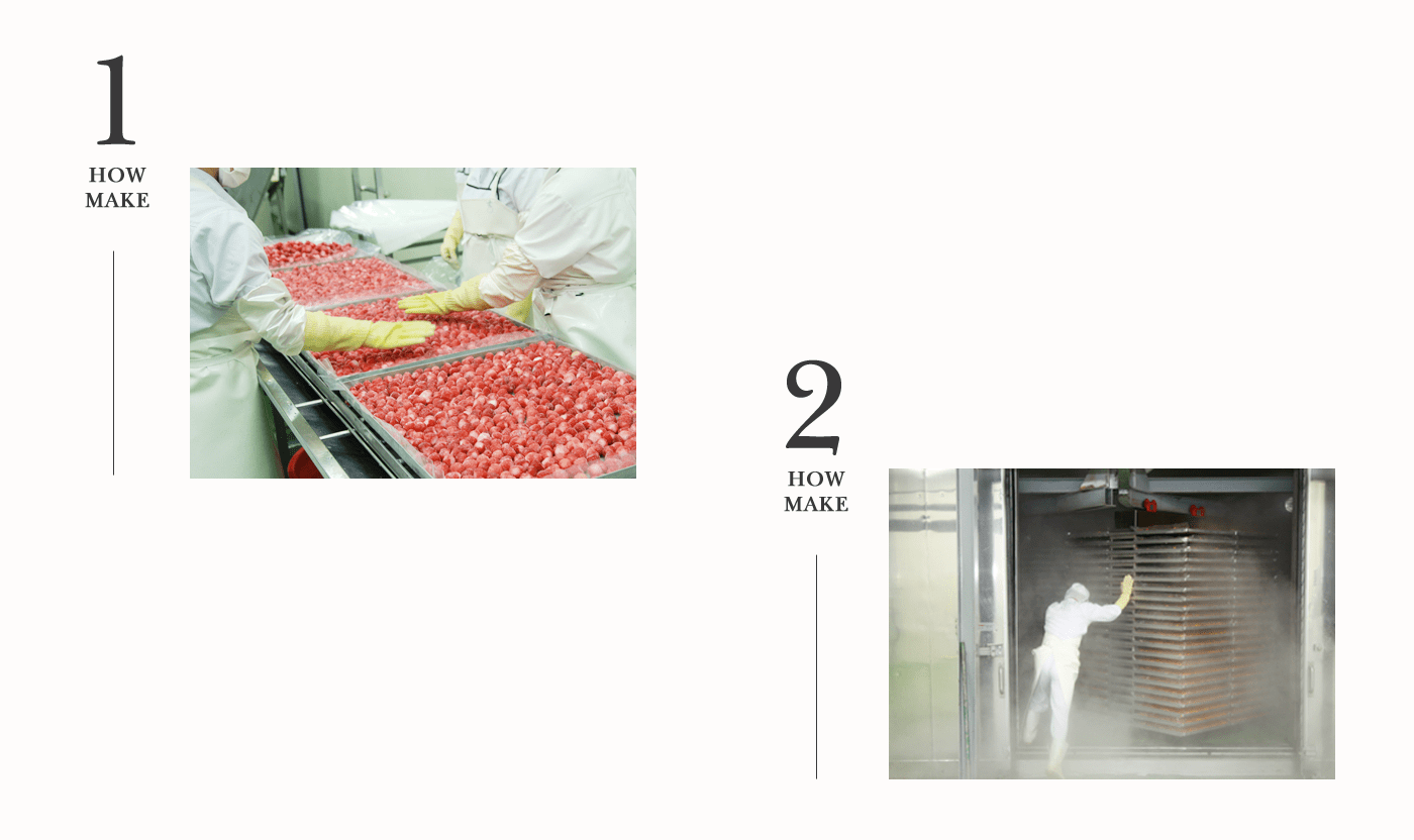 동결건조 과일 애견 간식 딸기칩 전체 상세이미지6 - 더 맛있게, 더 건강하게, 더 간편하게