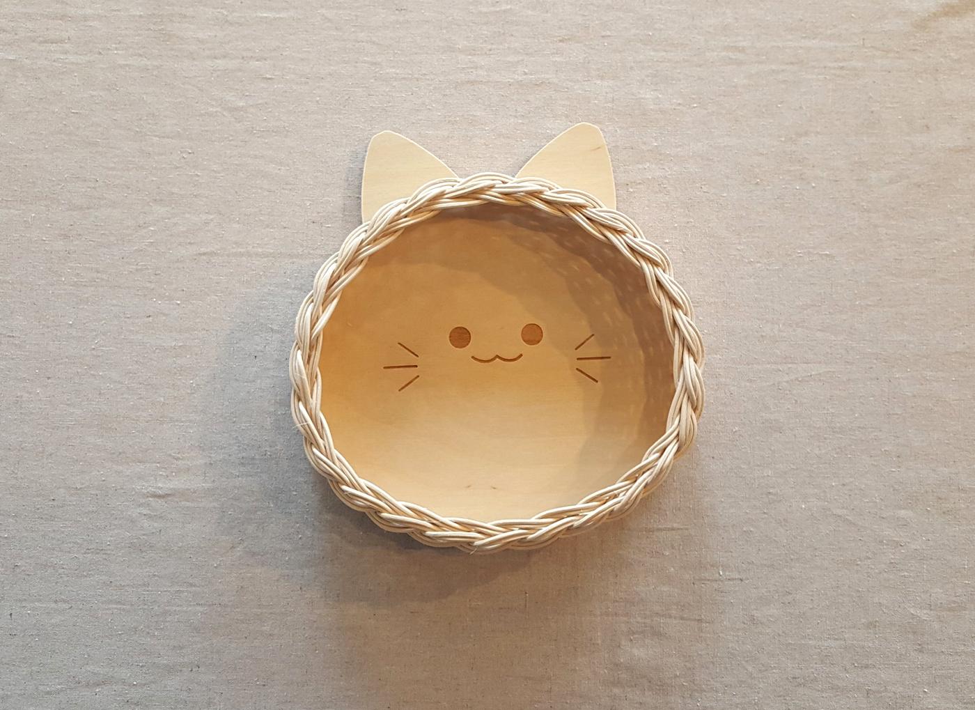 라탄 트레이 DIY 키트(고양이/고래) 상세이미지2