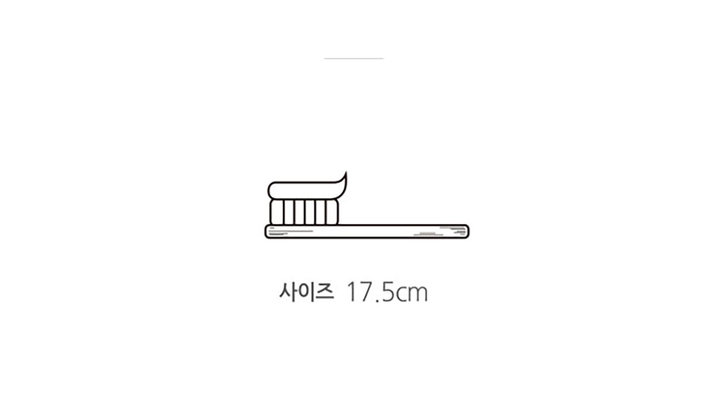 친환경 대나무 칫솔 6개 SET 상세이미지4