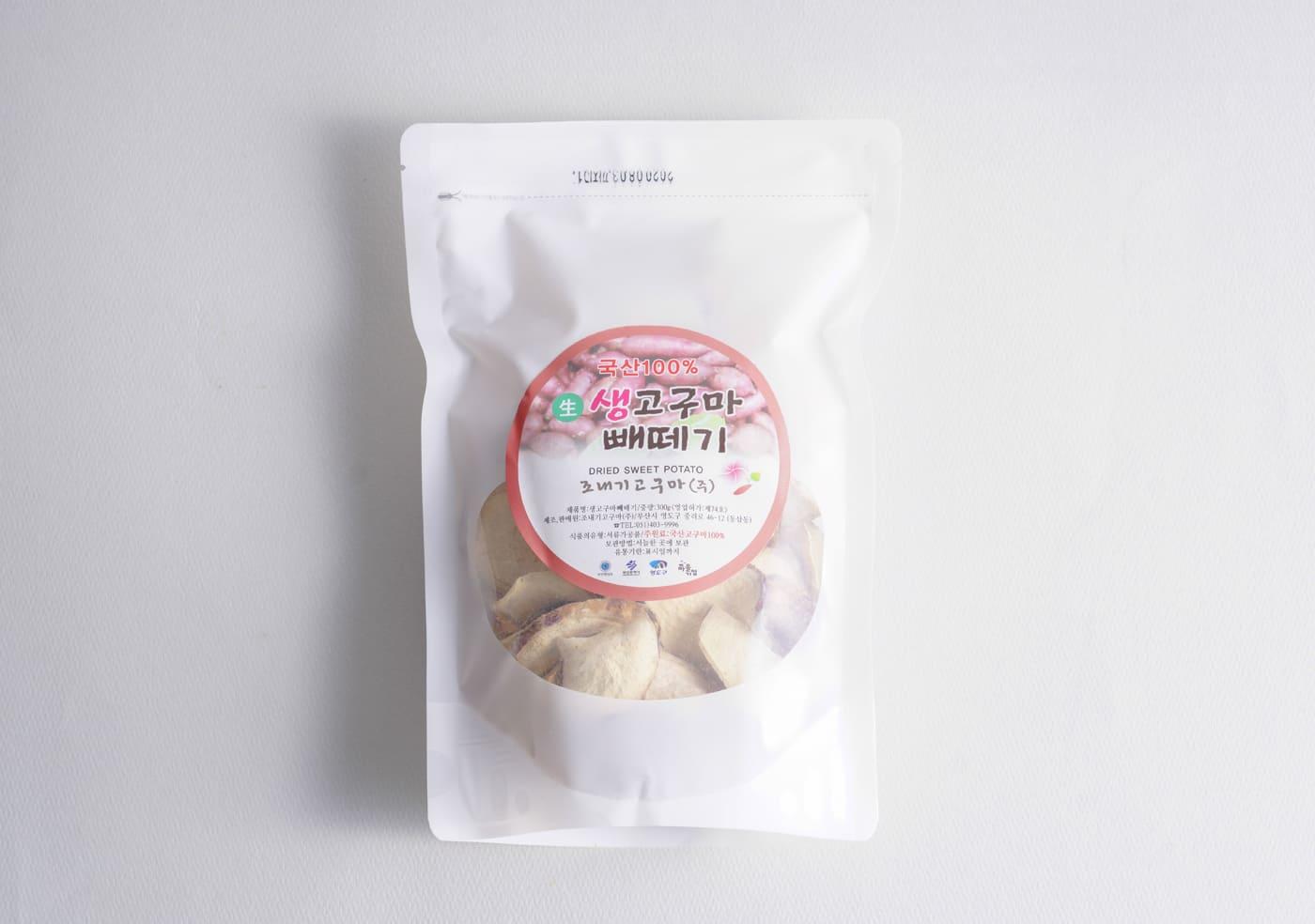조내기 생(生) 고구마 빼떼기(300g) 상세이미지1