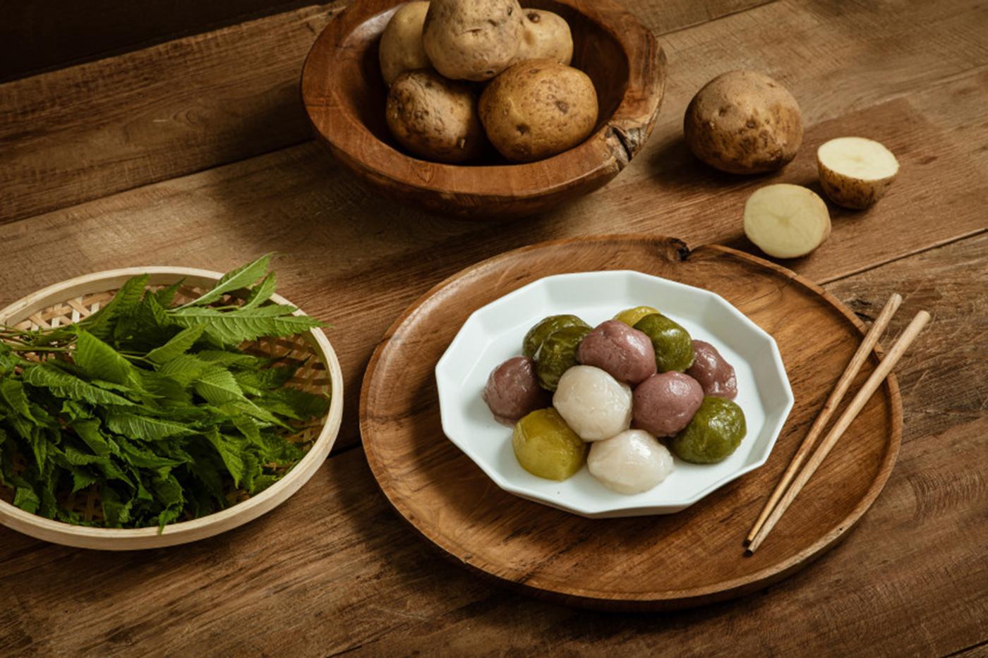 쫄깃쫄깃 산채 감자떡 1.4kg 상세이미지4