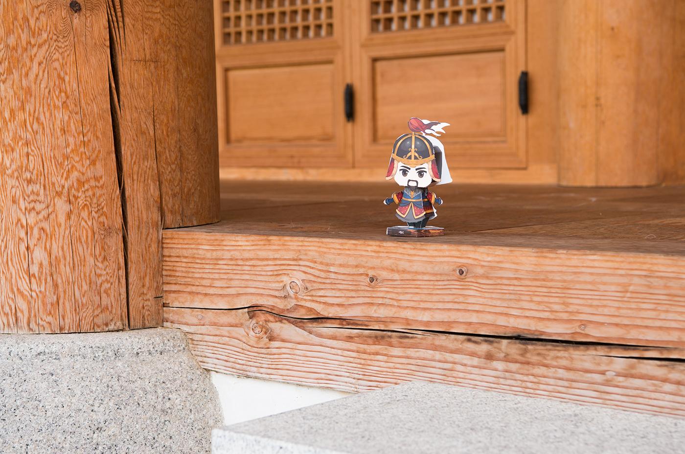 역사 속 위인과 함께하는 마법 페이퍼 토이/역사 위인이 살아 움직이는 재미있는 페이퍼 장난감 상세이미지2