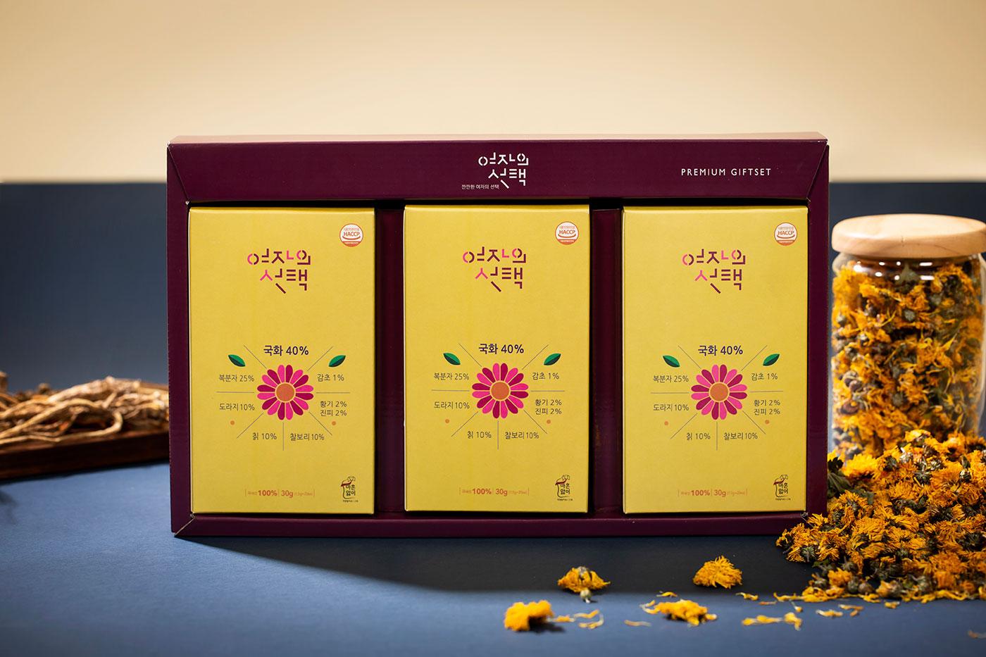 여자의선택/여자에게 좋은 8가지 한약재로 만든 차(1.5g*20 teabag) 상세이미지5