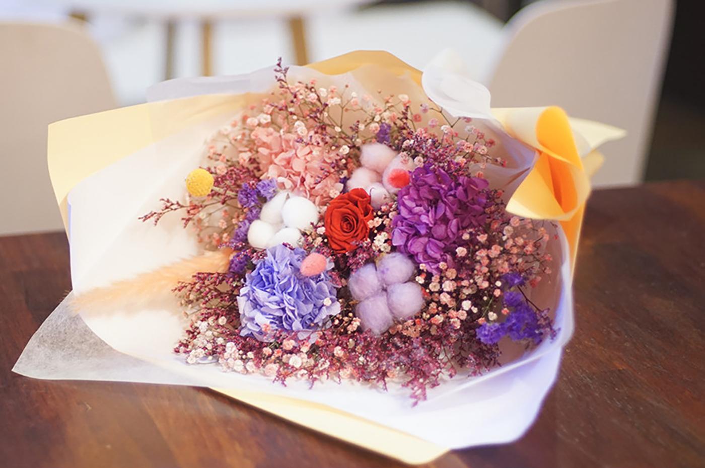 프리저브드 플라워 꽃다발 상세이미지2