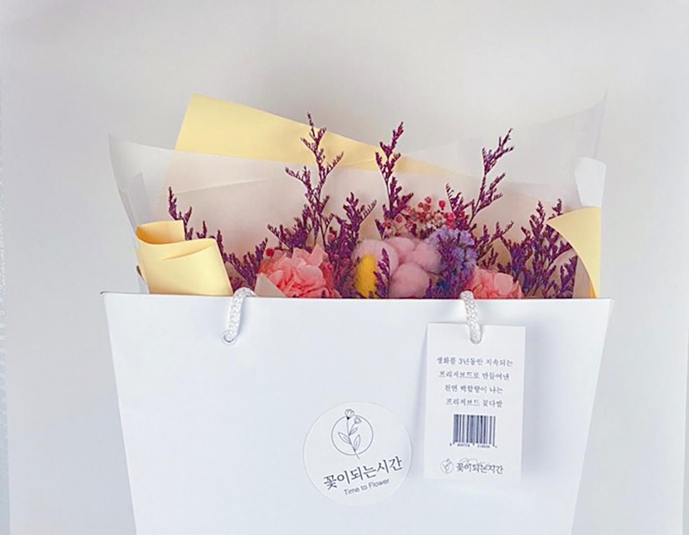 프리저브드 플라워 꽃다발 상세이미지4