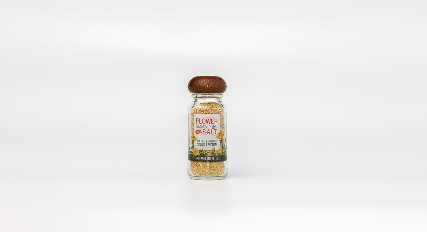 구이용 메리골드 소금/메리골드와 구운 천일염이 만난 구이용 메리골드 소금(15g/60g) 상세이미지2